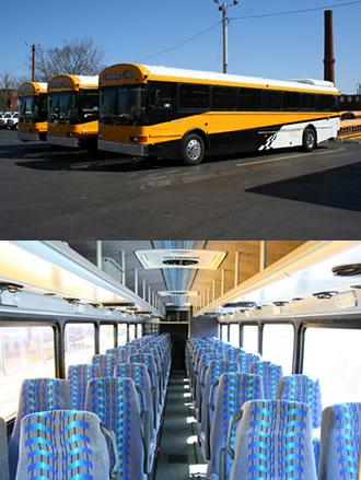 44 Penger Hybrid Coach Bus